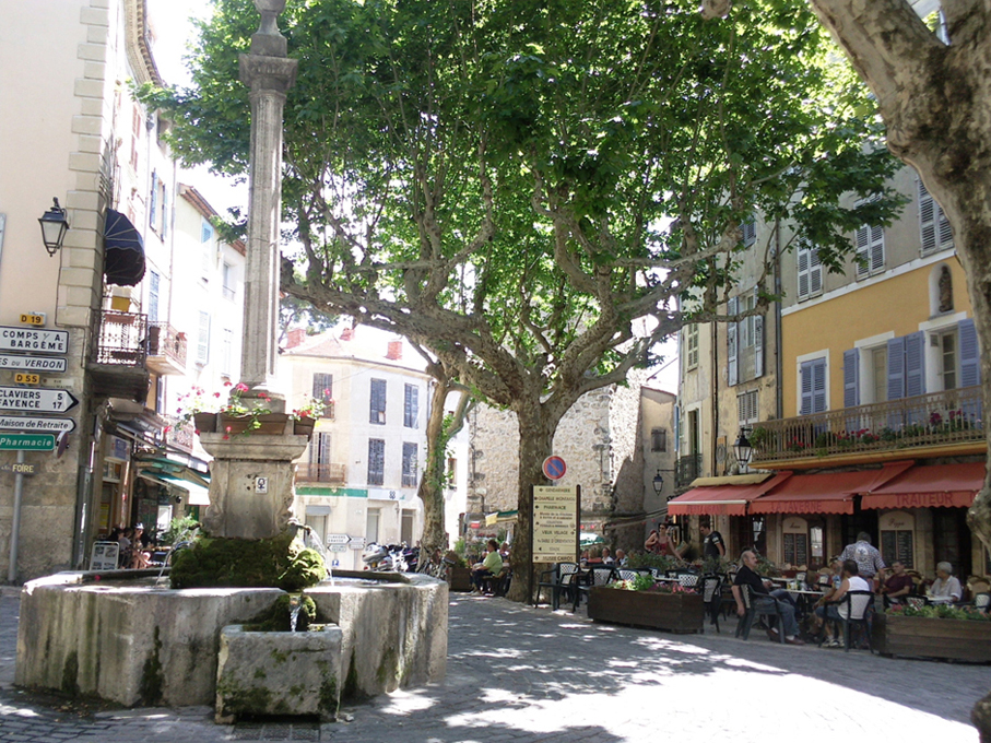 Place Chauvier Bargemon